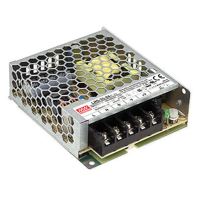 Mean Well LRS-35-5 35W 5V 7A Single Output Switchable Power Supply