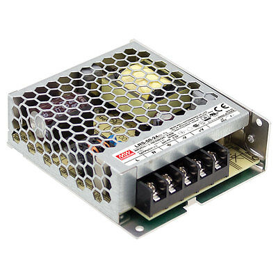 Mean Well LRS-50-5 50W 5V 10A Single Output Switchable Power Supply
