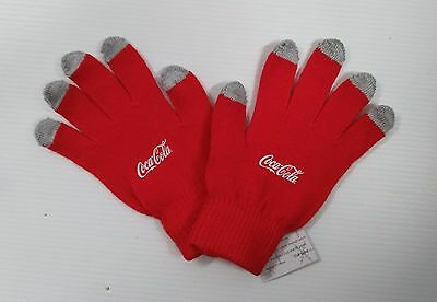 Coca-Cola Touch Screen Gloves - FREE SHIPPING