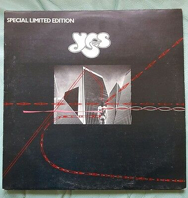 """YES -Going For The One 12"""" Special Limited Edition B/W Awaken  UK 1st press,EX"""