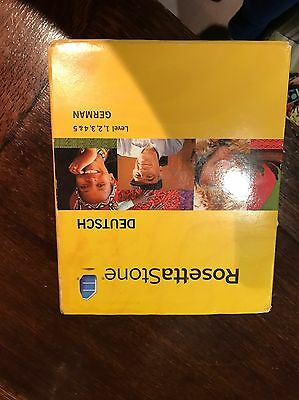 Rosetta Stone German Lvl 1-5 + Headphones authorisation Code Missing