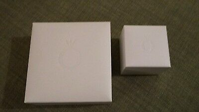 2 x Genuine Pandora Boxes -  Large and Small