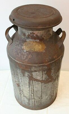 Rare 10 Gallon Milk Can William Green Lonaconing MD Potomac Creamery Hagerstown