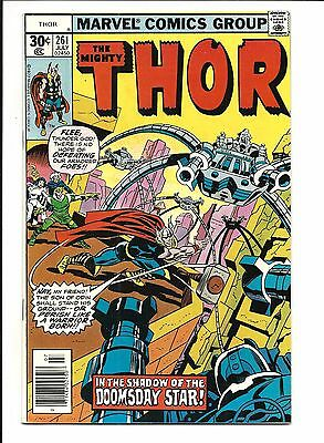 Thor # 261 (Cents, July 1977), Vf/nm