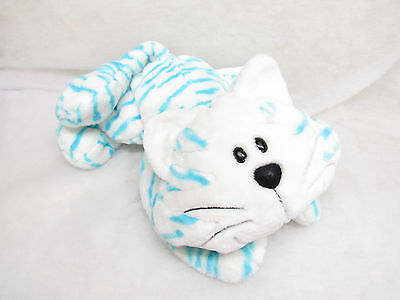 """Large 22"""" Plush Kitty Cat Stuffed Animal Alley Toys R Us Blue Striped"""