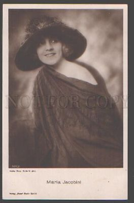 098943 Maria JACOBINI Italian MOVIE Star ACTRESS Vintage PHOTO