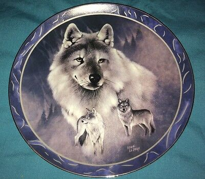 Collectable plate Silver Scout By eddie Lepage Plate