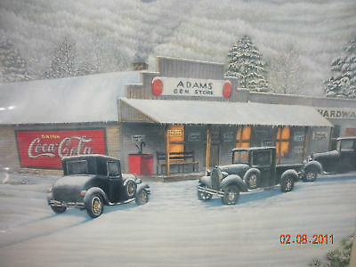 "Coca-Cola / Jim Simpson ""Roane Co."" General Store - SIGNED & NUMBERED!"