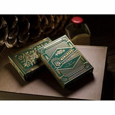 Monarch Playing Cards by Theory 11 (Green)