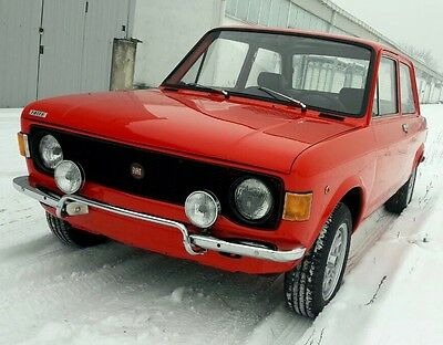Fiat 128 Rally, 1300cc, from 1973 high level of restoration, like a new!