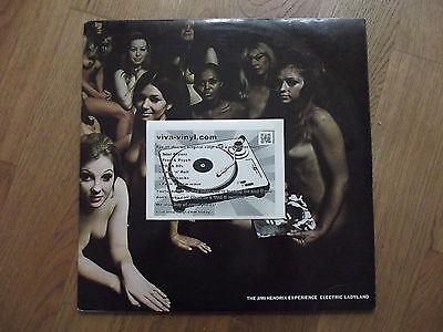 Jimi Hendrix Experience - Electric ladyland, UK Track label original EX/EX