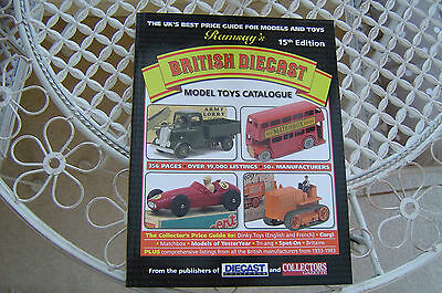 LATEST 15th RAMSAY DIECAST DINKY CORGI MATCHBOX + OTHER TOYS PRICE GUIDE BOOK