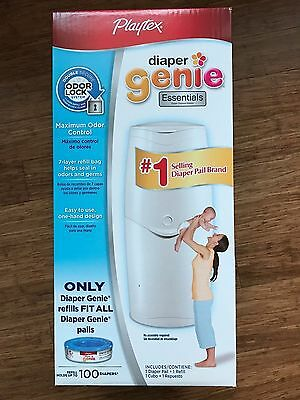 Playtex Diaper Genie Essentials Diaper Pail with 100ct Refill Brand NEW!!!!!