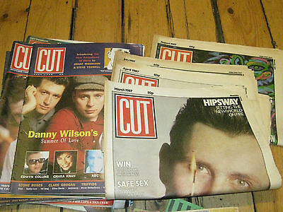 Lot / Collection Of Vintage Music Magazines  Cut  From The 1980's   14 Of