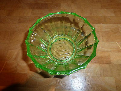 Green Glass Small Bowl