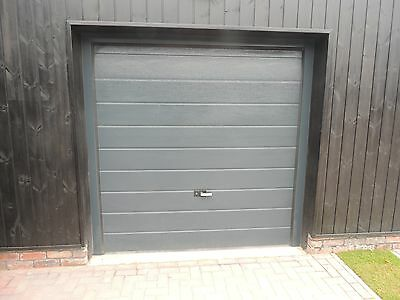 40mm Insulated Sectional Garage Door Anthracite