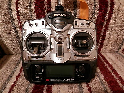 Jr Propo X2610 6 Channel Aircraft Transmitter.