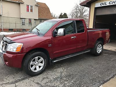 2004 Nissan Titan LE Offroad Nissan Titan 4x4 Offroad Package Extended Cab Loaded, Leather NO RESERVE