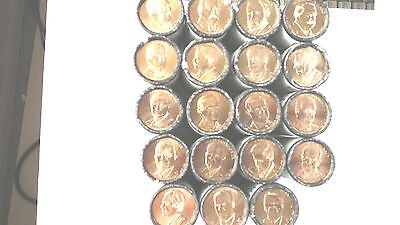 2012  to 2016 D  Presidential Dollar  19 coins  COMPLETE SET HARD TO FIND