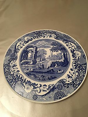 Spode blue italian Cake/cheese plate - Unused