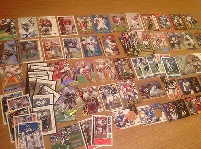 Job Lot 200+ NFL American Football TRADING CARDS Top End High Quality Cards