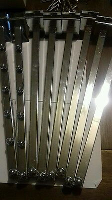 slat wall bars