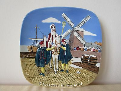 Beswick Christmas in Holland.plate. Ltd Edition No 7313 of 15,000