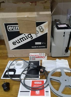 Eumig p8 projector in box