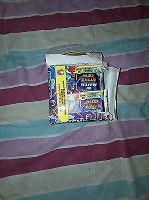 Full box of match attax extra (50 sealed packs)