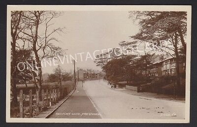 Manchester Suburbs Rectory Lane Prestwich Real Photo