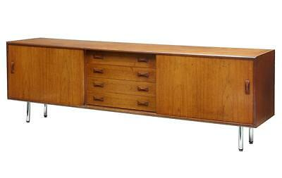LARGE DANISH 1960's TEAK SIDEBOARD