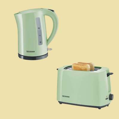 Severin Set mintgrün - Wasserkocher WK 9921 + Toaster AT 9920