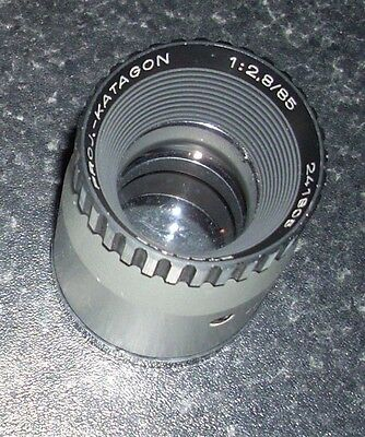 Very Nice Staeble Proj-Katagon 1:2.8/85mm Projector Lens