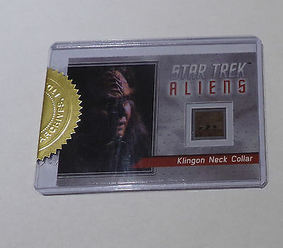 Star Trek Rittenhouse Archives Aliens Ultra Rare neck collar R1 card 78/80 MINT