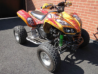 Kawasaki Kfx 700 Automatic Full Size Road Legal Bad Boy Quad Bike