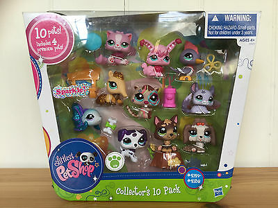 Hasbro Littlest Pet Shop Collector 10 Pack #2129-2138 Ultimate Pet Collection