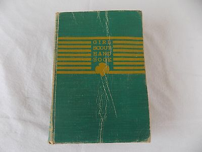 Vintage 1940 Girl Scouts Handbook Hardcover First Impression Complete Guide