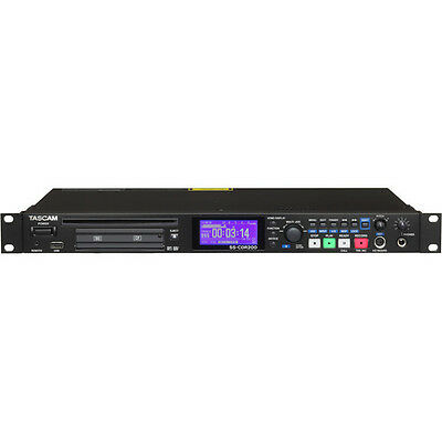 Tascam SS-CDR200 Solid State & CD Digital Audio Recorder PROAUDIOSTAR