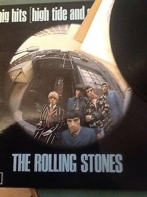The Rolling Stones ~ Big Hits High Tide And Green Grass Lp ~ Ex+/ex+ ~ Txs 101