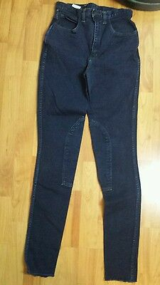 ladies Hac Tac riding jeans breeches uk 10, waist 26inch