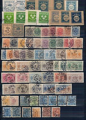 Sweden large collection of high catalog value