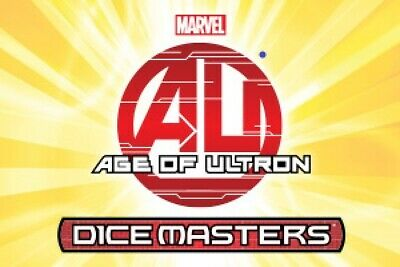 Marvel Dice Masters Age of Ultron Single Card + Die