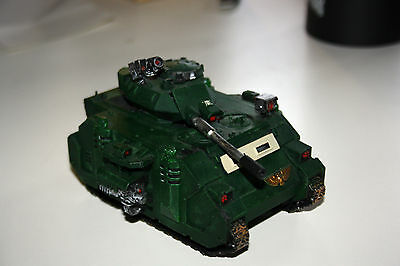 PREDATOR DARK ANGELS PAINTED  - Warhammer 40000 - Games Workshop