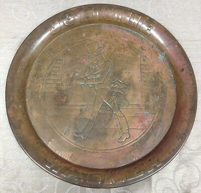 Vintage Johnnie Walker Copper Tray
