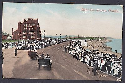 Bexhill On Sea. Motor Car Racing. Posted 1909