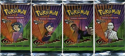 Pokemon Gym Challenge Booster Packs Factory Sealed Choose