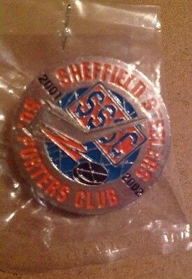 Sheffield Steelers Supporters Pin 2001/2002
