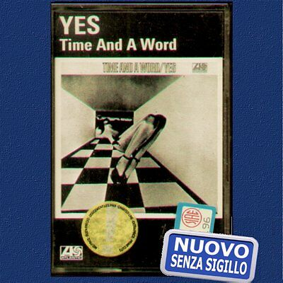 """Yes """" Time And A Word """"  Musicassetta Nuova   (Mc - K7)"""