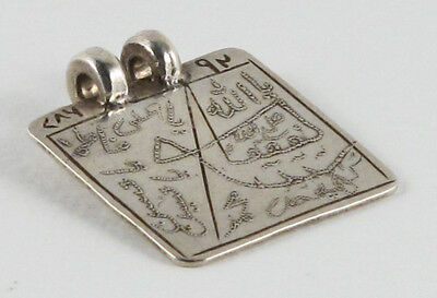 Antique Silver Protective Amulet India