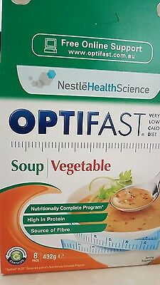 5 x Optifast Soup Vegetable